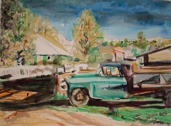 """""""Dump Truck"""" by Lynn Miller"""